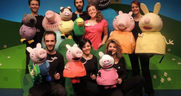 Peppa Pig al Teatro Manzoni di Milano